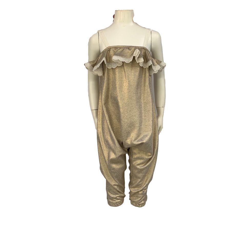 Detalle Bamboline colección Tanit mono y chaqueta