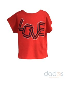 IDO camiseta roja Love