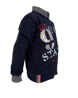 Detalle IDO chaqueta niño azul navy