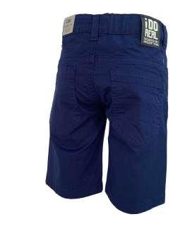 IDO bermuda niño azul 5 bolsillos trasera