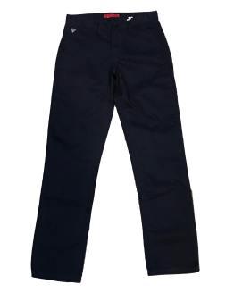 GUESS pantalón chino azul marino