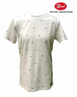 PETROL camiseta blanca gafas