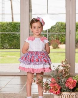 Dolce Petit vestido flores