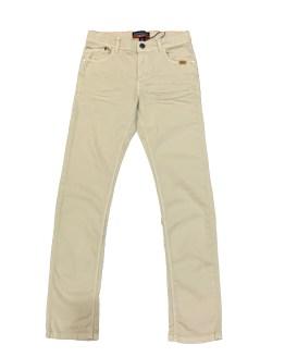 ROOKIES pantalón chico crudo 5 bolsillos