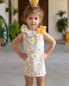 Nini vestido huevos fritos catálogo