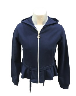Elsy chaqueta felpa azul marino