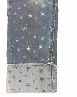 ELSY pantalón vaquero estrellas detalle