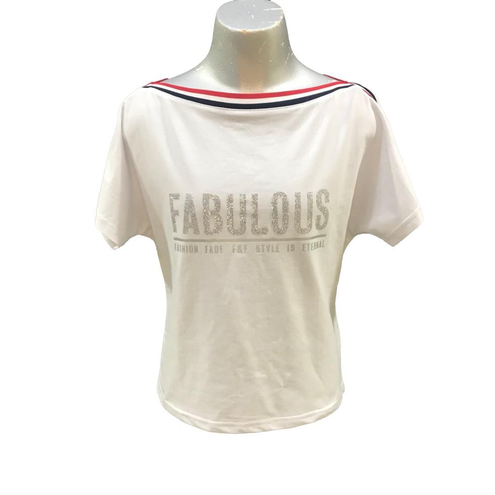 Fun&Fun camiseta blanca Fabulous