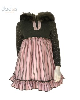 Vestido con capucha colección Dumbbo Lolittos