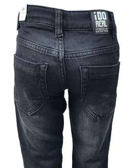 IDO pantalón vaquero negro de niño trasera