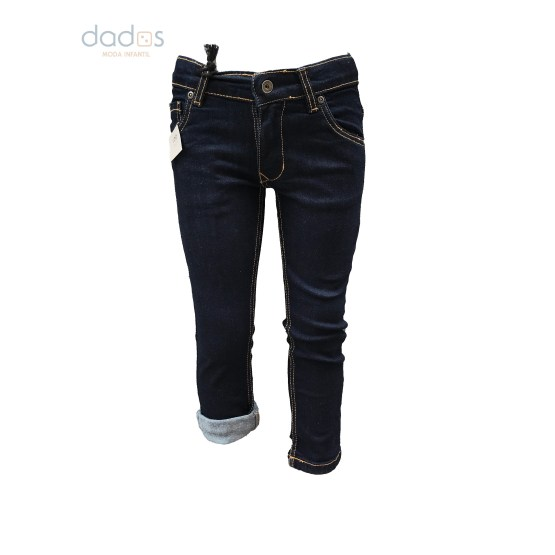 IDO pantalón vaquero azul oscuro