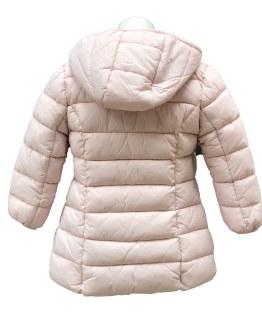 Espalda IDO abrigo acolchado rosa