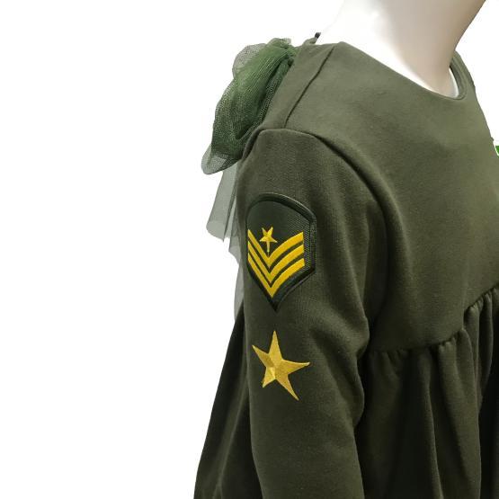 Detalle Mon Petit Bonbon jesusito verde militar