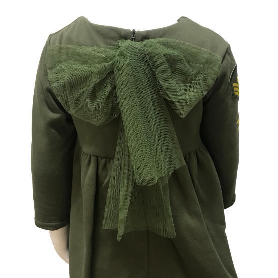 Espalda Mon Petit Bonbon jesusito verde militar