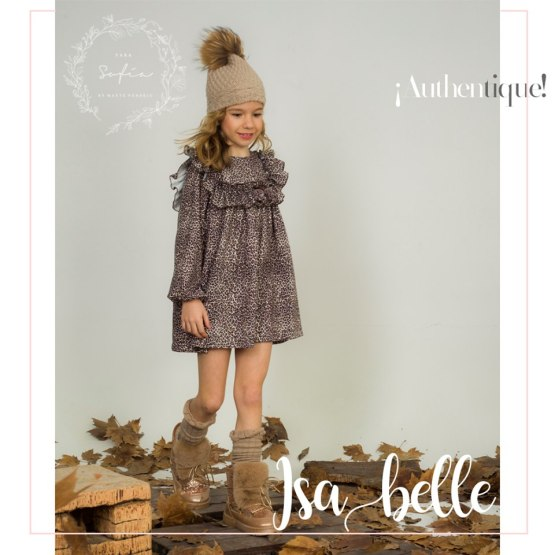 Catálogo Para Sofía colección Isabelle vestido estampado animal