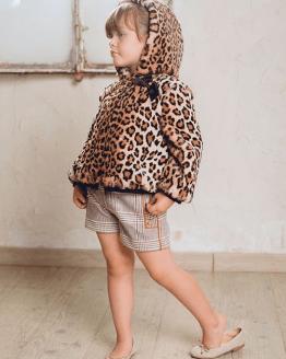 Catálogo Marta y Paula cazadora bomber pelo leopardo