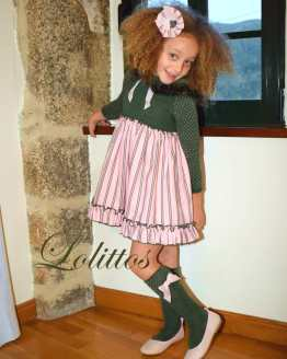 Catálogo Lolittos colección Dumbbo vestido con capucha