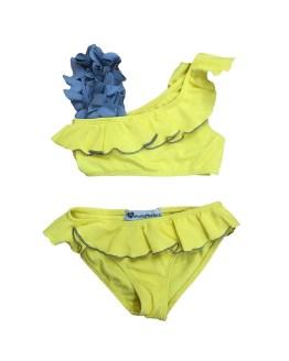 anuela Montero bikini amarillo