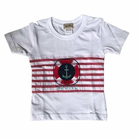 Lolittos conjunto colección anclas camiseta