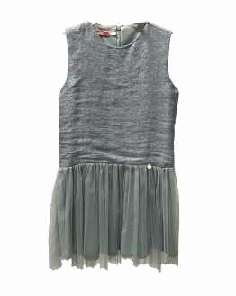 Outlet Bella Bimba vestido verde brillo