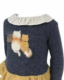 Coco Acqua vestido gatitos con braga detalle