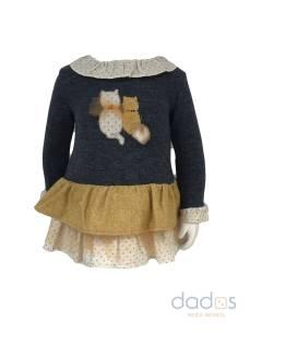 Coco Acqua vestido gatitos con braga