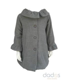 Coco Acqua abrigo paño gris