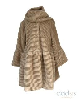Coco Acqua abrigo de pelo marrón