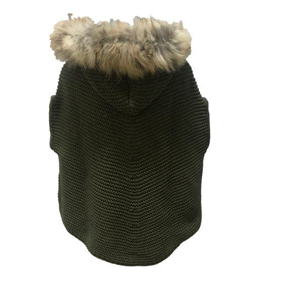 Espalda Bella Bimba colección Amatista capa punto liso verde
