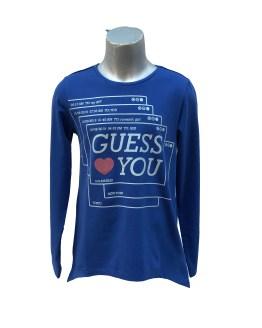 Guess camiseta you manga larga varios colores