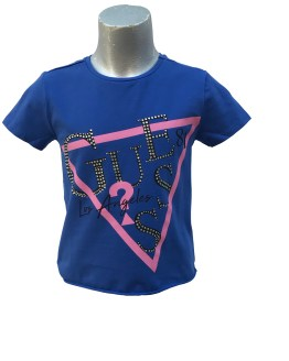Guess camiseta chica letras cristales