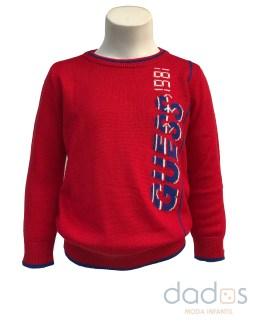 Guess Kids jersey punto rojo niño