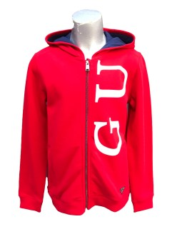 Guess chaqueta algodón roja chico