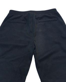 Guess pantalón jogging negro con franja dorada trasera