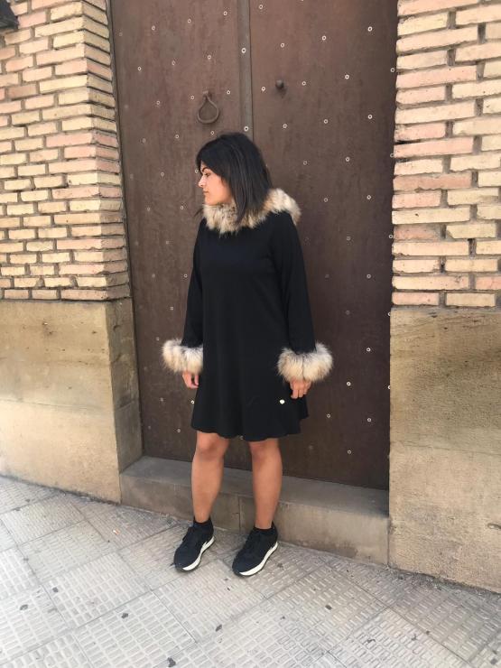 Bella Bimba colección Ópalo vestido evasé look
