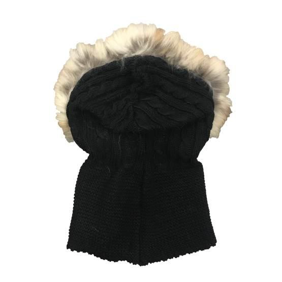 Bella Bimba colección Amatista capucha negra