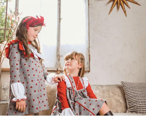 Catálogo Marta y Paula colección Jilguero vestido