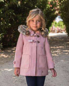 Catálogo Dolce Petit trenca rosa con pelo