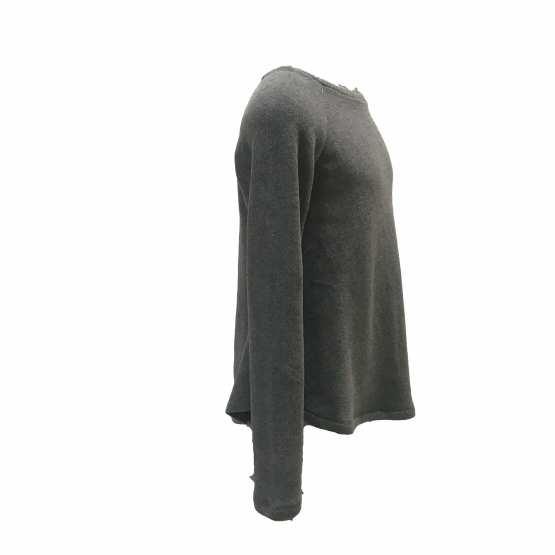 Vista Elsy jersey gris punto milano