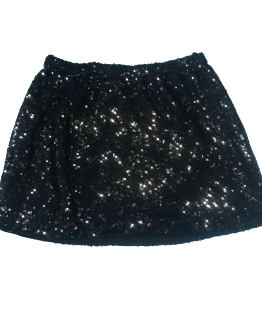 Elsy falda lentejuelas negra