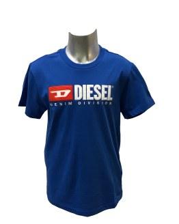 Diésel camiseta logo relieve varios colores