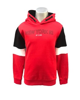 Cars Jeans sudadera roja New York 82