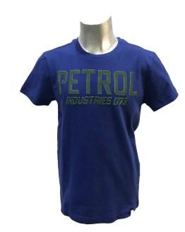 Petrol camiseta azul manga corta