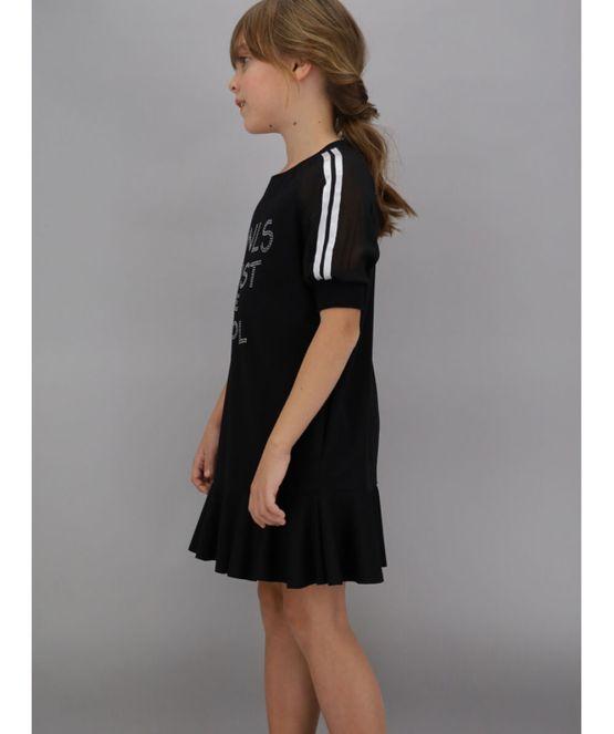 Monnalisa vestido negro just be cool
