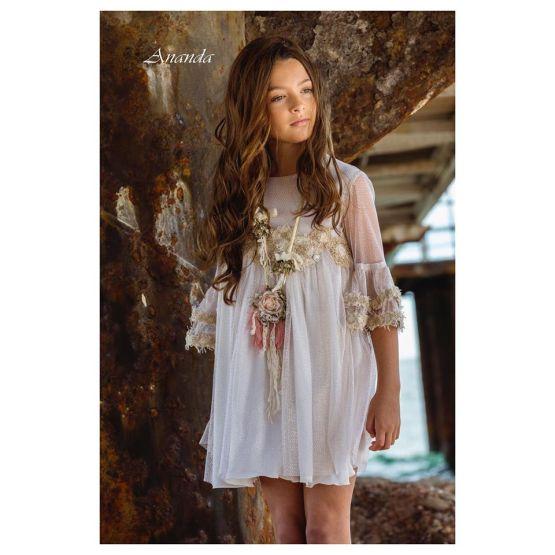 Bella Bimba colección Ananda vestido corte pecho