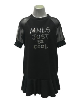 Monnalisa vestido negro just be cool