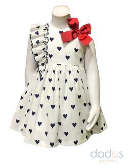 Mon Petit Bonbon vestido corazones