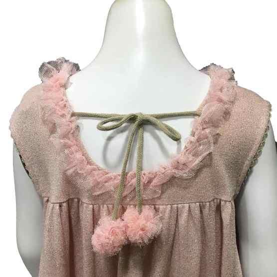 Lolittos colección Glamur vestido recto espalda