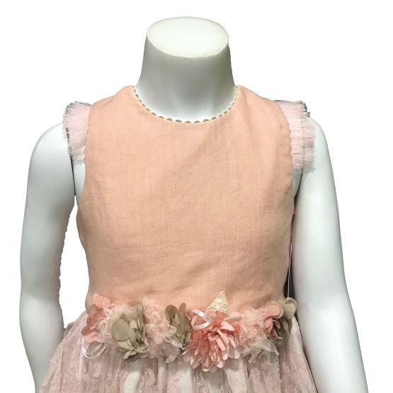 Lolittos colección Glamur vestido vuelo detalle