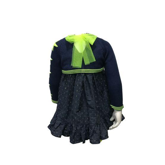 Look con jersey Lolittos colección Star vestido recto